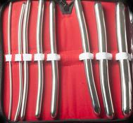 Dilator Set von 8 Teilen (3-18 mm)